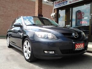 2008 Mazda Mazda3 NO ACCIDENT,AUTO,AIR,SUNROOF,ALLOYS.$5488