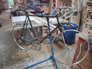 Mid 70`s Nishiki Road Bike Frame/wheels/shifters/front/rear mech