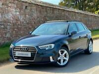 2016 (66) AUDI A3 1.6 TDI SPORT 5DR S-TRONIC AUTO + PANORAMIC SUNROOF + 1 OWNER