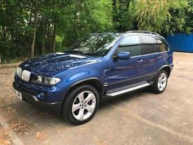 BMW X5 3.0d auto 2006 Le Mans Blue Sport Edition PAN ROOF / SAT NAV / TV