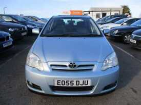 2005 Toyota Corolla Hatch 5Dr 1.4VVTi 95 Colour Collection Petrol blue Manual