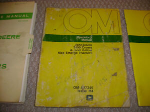 Farm Equipment Operator's and Service Manuals London Ontario image 2