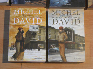 Michel David - Mensonges sur le plateau Mont-Royal (2 tomes)