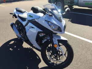 New Ninja 300 Never Used