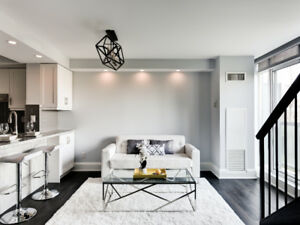 SALE**Rarely Offered Executive Style, Renovated 2-storey Loft