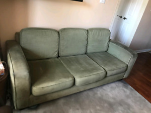 Couch and armchair $150