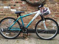 Ladies/teenage girls bike and helmet £40