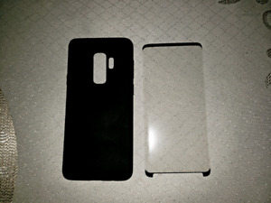 Samsung S9 plus case and screen protector