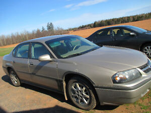 2003 Chev Impalla, good condition, newly inspected,