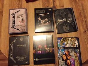 Metallica dvds