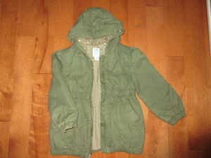 Cotton lining fall coat size 5
