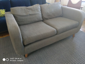 Marks & Spencers 2-3 seater sofa M&S grey fabric setee
