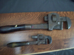Vintage Pipe Wrenches