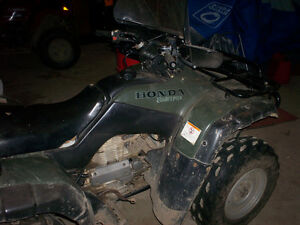 Used 2001 Honda 350 four traxs 2 x 4