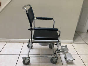 Invacare Commode/Shower Chair with Wheels