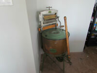 Vintage Beatty Antique Washing Machine with Copper Tub
