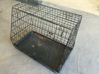 Pet cage carrier car or home cat dog