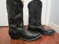 Men's cowboy boots Size 8
