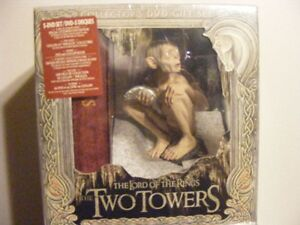The Lord of The Rings The Two Towers Collectors dvd Gift SET