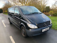 2010 10 MERCEDES BENZ VITO TRAVELINER AUTO 111 2.1CDI EXTRA LONG 9 SEATER NO VAT