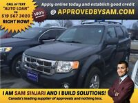 "ESCAPE - TEXT ""AUTO LOAN"" TO 519 567 3020 GUARANTEED CREDIT"