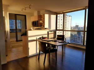 Downtown fully-furnished Studio at The Lions Tower Alberni