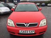 Vauxhall Vectra Club 16v 5dr PETROL MANUAL 2003/03