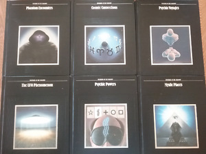 Collection of 6 books on the Supernatural (English)