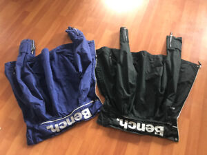2 bench jackets small and large