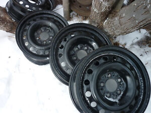 VARIETY OF 14IN. 15IN. 16IN. STEEL & ALUMINUM RIMS SEE BELOW