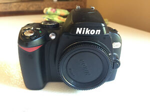 Nikon D40x with 18mm to 50mm