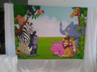 Small party backdrops