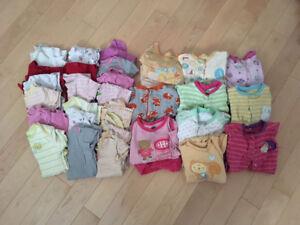 Lot de vêtements fille 18 mois