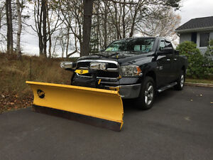 """2014 Dodge Ram 1500 SLT  & 7'6"""" Fisher Plow. Financing Available"""