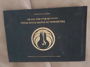 Star Wars The Old Republic Collector's Edition The Journal Of Ma