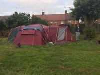 Kyham ultimate deluxe frame tent 12 man