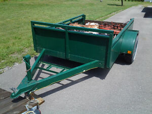 5 x 8 Heavy Duty Utility Trailer