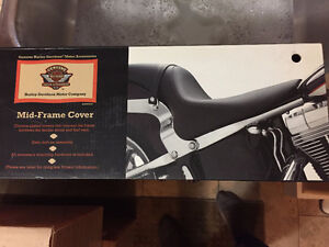 HD mid frame cover set for Softail