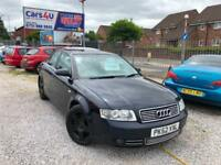 02 AUDI A4 SE 2.5 DIESEL TDI AUTO IN BLUE *MOT TILL MAY 2019* £1495