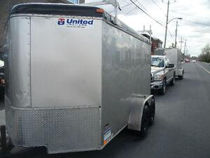 United Trailers  Remorque Fermee 2011 6x6x12 v nose avec 4 MAG