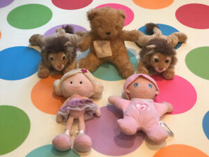 Assorted New Stuffies and Dolls
