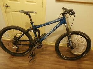 2 VELO  DE MONTAGNE DOUBLE SUSPENSION A VENDRE