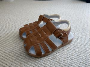 Bobux leather sandals
