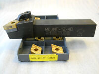 SECO MDJNR-12-4B TURNING TOOLHOLDER AND DNMG 431 COATED INSERTS