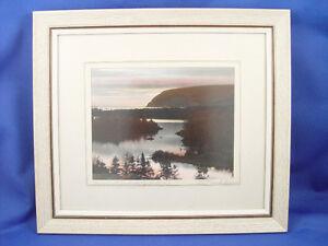 Vintage Large WR MacAskill Framed Photograph Pencil Signed