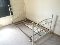 Single Canopy Bed Frame
