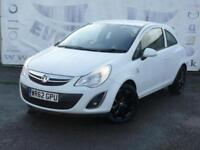2012 VAUXHALL CORSA 1.2 ACTIVE AC 1 OWNER LOW MILEAGE IDEAL FIRST CAR 16 INCH BL