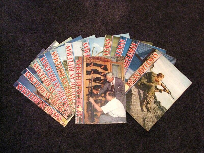 AMERICAN RIFLEMAN MAGAZINES 1948 (LOT OF 12 COMPLETE YEAR) FINE