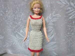 HAND MADE CLOTHING FOR FASHION DOLLS (BARBIE)