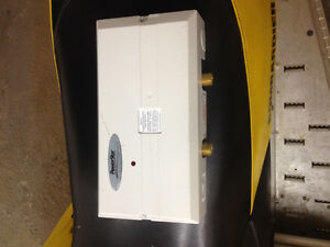 Power star tankless under sink electric water heater